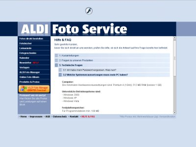 Screenshot Aldi