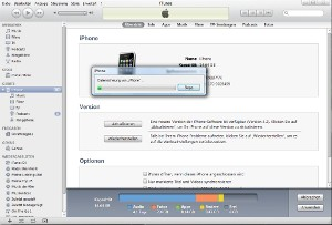 iphone Backup in itunes